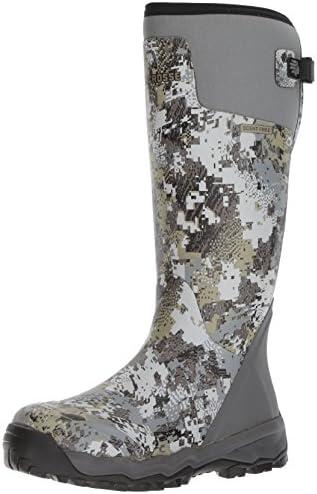 "Men's Alphaburly Pro 18"" Hunting Shoes, Optifade Elevated II, 11 D US"