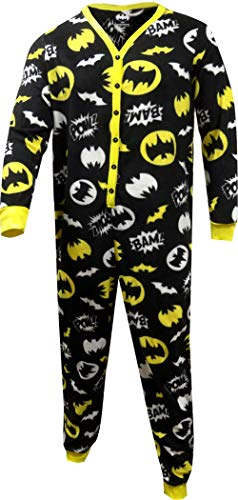 Batman Ladies Union Suit Onesie Pajama With Butt