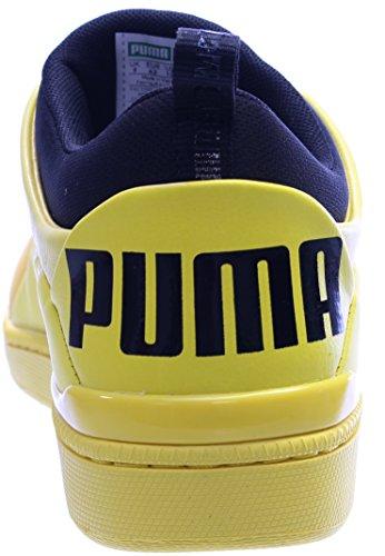 Puma Alexander Mcqueen Mcq Hombres Corsé Lo Redondas Zapatillas De Deporte De Cuero Del Dedo Del Pie Yaellow Pague con Visa Venta Online Sitios web de venta baratos mTH1rJC