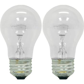 GE Appliance 21188 40-Watt 415-Lumen A15 Light Bulb with Medium Base  sc 1 st  Amazon.com & Amazon.com: GE Appliance 21188 40-Watt 415-Lumen A15 Light Bulb ... azcodes.com