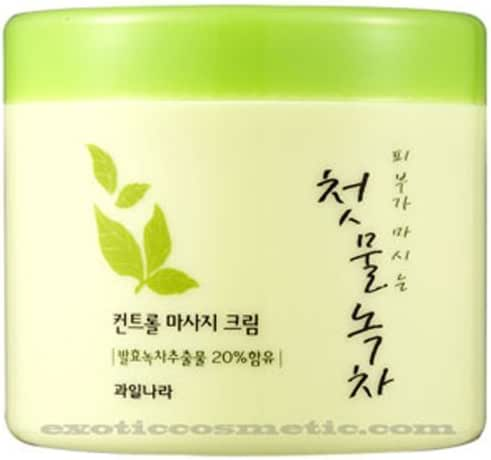 The First Green Tea Natural Facial Massage Cream (Fermented Green Tea)