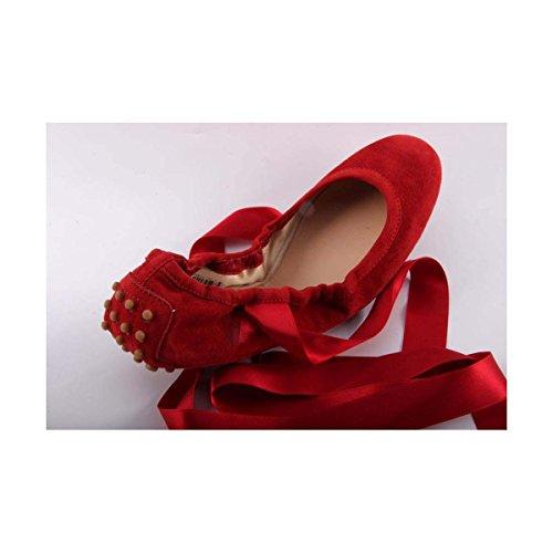 Tods Ladies Ballerina XXW0NY0C350HR0R602