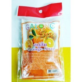 (1 Dozen) 100g.whitening Collagen Orange + Vitamin C & E All Natural Sisal Soap Bag By Galong Spa. 410sIdrEKIL