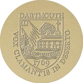 Dartmouth College - Art Deco Shelf Clock