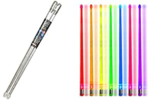 Light up Color Changing Drumsticks, Ultra-Bright LEDS, 7 Spectacular Color Effects, Turn Your Show Into A Performance. The Original.