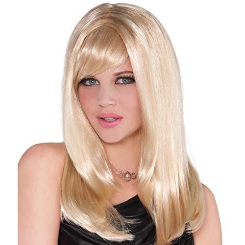 Amscan Stunning Starlet Blonde Wig | 3 Ct. ()