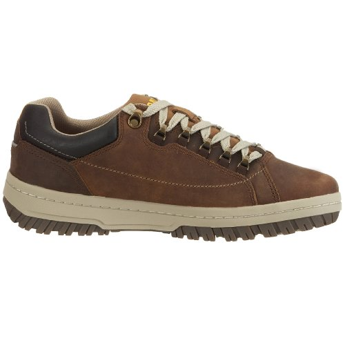 Cat Footwear APA P711584 - Zapatos casual de cuero para hombre Marrón