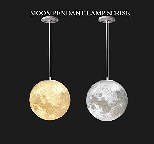 Gahaya 8 moon pendant lamp 3d printing ceiling light 3200k 6500k gahaya 8 moon pendant lamp 3d printing ceiling light 3200k 6500k e26 led amazon aloadofball Images