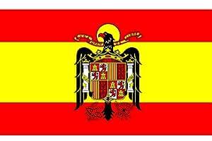 Gran Bandera de España Franco150 x 90 cm Satén Durobol Flag