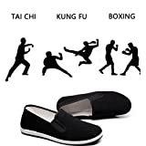 Men's Women's Chinese Traditional Old Beijing Shoe for Martial Art Tai Chi Boxing Shoes Slip On Sneaker