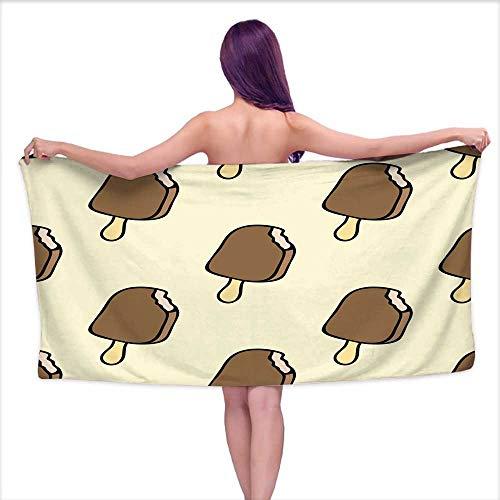 Tankcsard Bath Towels Set Doodle ice Wallpaper,W10 xL39 for Kids Mickey Mouse ()