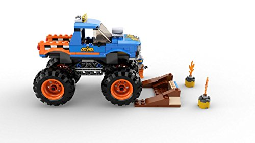 410sLCsoo3L - LEGO City Monster Truck 60180 Building Kit (192 Piece)