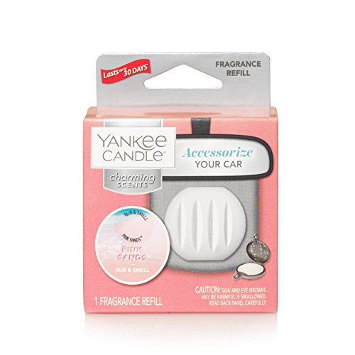 Yankee Candle Charming Scents Car Air Freshener Refill, Pink Sands by Yankee Candle