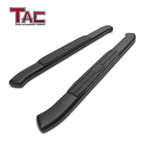 TAC Side Steps Running Boards Fit 2018-2019 Jeep Wrangler JL 2 Door SUV 4.25