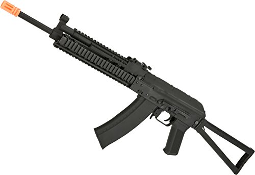 Evike CYMA Stamped Metal AK-74 KTR RIS w/Folding Stock Airsoft AEG Rifle -