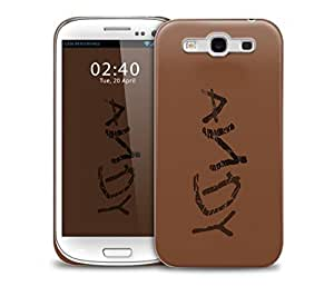 andy shoe Samsung Galaxy S3 GS3 protective phone case