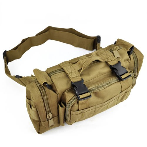 Biketrekking Travel Waist Hiking colored Camping Bag Bum Military Army Mud Sport Sonline Tactical 8qawtt