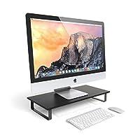 Soporte para monitor Satechi Classic - Compatible con iMac de 27 pulgadas, computadoras de escritorio, computadoras portátiles e impresoras