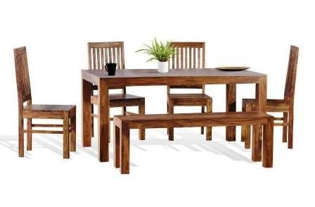 Fantastic Shilpi Sheesham Wood Dining Table Set 4 Chair With Standard Caraccident5 Cool Chair Designs And Ideas Caraccident5Info