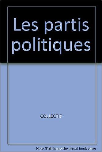 Livre gratuits Les partis politiques pdf