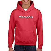 Ugo Memphis TN Tennessee Flag Nashville Map Tigers Home Tennessee State Girls Boys Youth Kids Hoodie