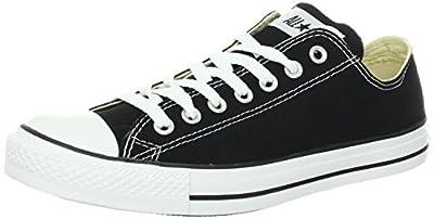 Converse Chuck Taylor All Star Ox Black Unisexm9166 (5 D(M), Black)
