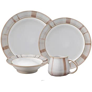 Denby Truffle Layers 16-Piece Dinnerware Set  sc 1 st  Amazon.com & Amazon.com | Denby Truffle Layers 16-Piece Dinnerware Set ...