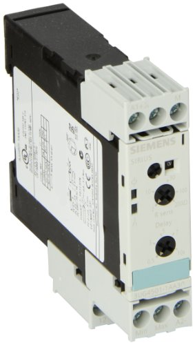Siemens 3UG45 01-1AA30 Level Monitoring Relay, Screw Terminals, 2-200ohm Sensitivity, 0.5-10s Tripping Delay Time, 24VAC/VDC Control Supply Voltage by Siemens (Image #1)