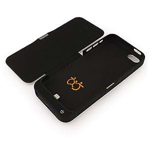 2200 mAh cargador de reserva extendida de Carcasa para iPhone 5/5/5C, compatible con Apple iPhone 5/Apple iPhone 5 & 5S/Apple iPhone 5C/Apple iPhone 5S