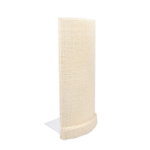 Sofa-Scratcher' Cat Scratching Post & Couch-Corner/Furniture Protector (Ivory)