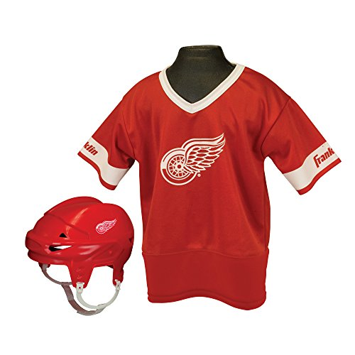 Franklin Sports NHL Detroit Red Wings Youth Team Set