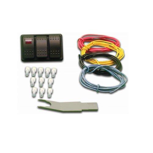 Nitrous Express 15896 Universal Console Switch Panel ()
