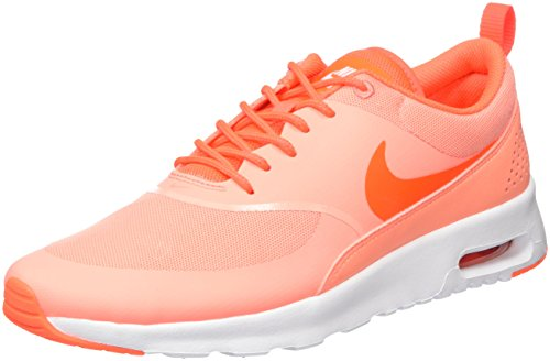 Price comparison product image Nike Women's Air Max Thea Atomic Pink/Ttl Crimson/White Running Shoe 7 Women US