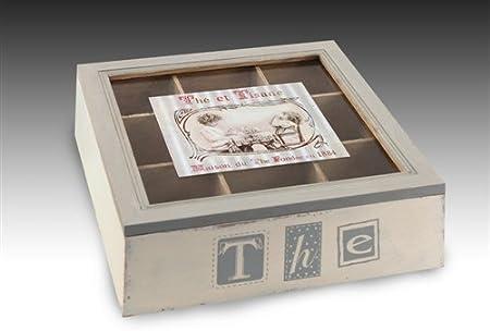 Signes Grimalt - Caja Para Guardar TE Madera 24 cm 33786SG: Amazon.es: Hogar
