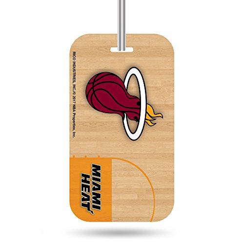 Rico Industries NBA Miami Heat Plastic Team Luggage Tag