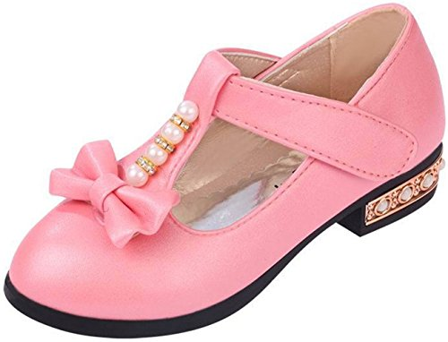 ppxid-girls-sweet-pearl-bowknot-ankle-strip-casual-shoes-pink-35-us-size