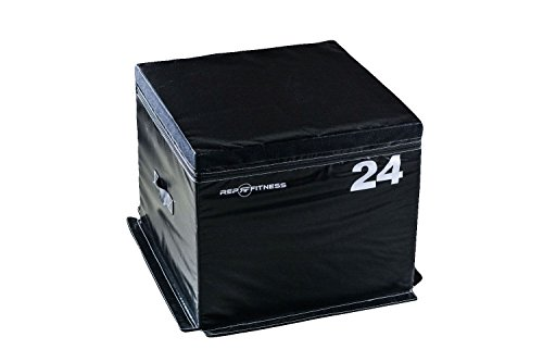 - Rep Foam Soft Plyo Box for Plyometric Exercises and Conditioning - 24 inch Height