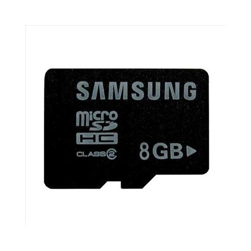New OEM Samsung 8GB Class 2 MicroSDHC Memory Card
