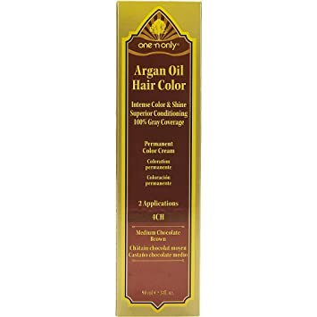 Argan oil hair color cream developer directions