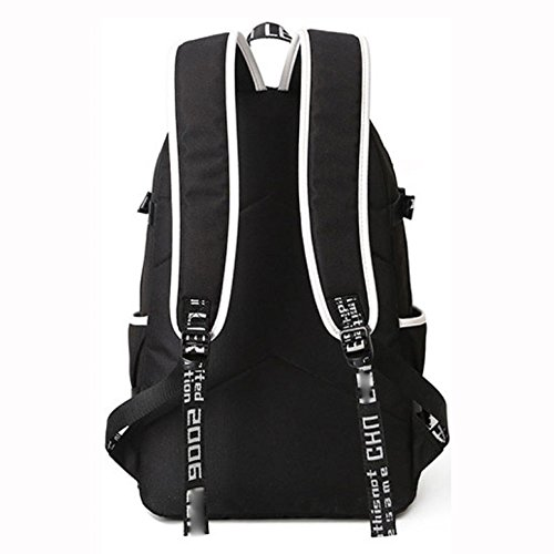 Male functional Outdoor Casual Oxford Bag Backpack Multi Skyblue Sports Dhfud Fashion S5w1BqF