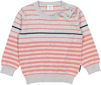 Baby Pyret Marled Stripe Pullover Sweater Polarn O
