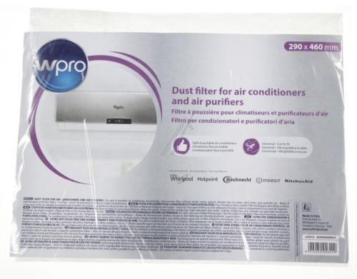filtre à poussière universel pour climatiseur et purificateur d'air 460x290mm 220g à découper WHIRLPOOL