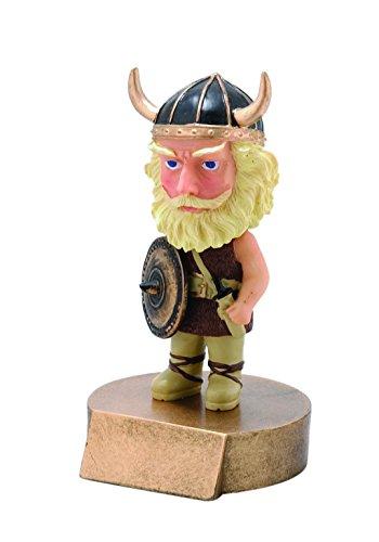 Decade Awards Viking Bobblehead Mascot Trophy   Viking Award   6 Inch Tall - Customize Now
