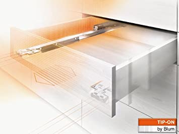 Blum Movento Vollauszug Tip-On NL=550mm 60Kg 766H5500T