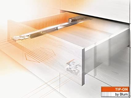Blum - Glissiere movento tip on-charge 40 kg sortie totale - Long. mm.480