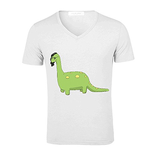 [Skill Rex Mens Big And Tall T Shirts V Neck White] (Trailer Trash Outfits)