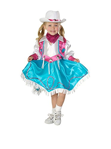 Rubie's Costume Co NLP Rodeo Princess Costume, Toddler, Multicolor -