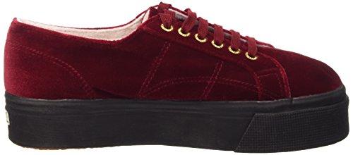 Sneaker Dk Superga Red Donna A77 Rosso a velvetw 2790 Basso Collo q4r64EfzF
