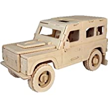 Land Rover Woodcraft Construction Kit