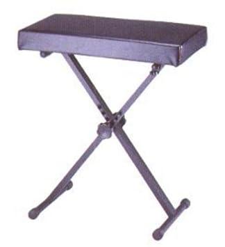 Amazon.com: BANQUETA TECLADO - TCM (KDT/5501) Plegable y Regulable (Altura 53/66 Cm.) (Asiento 32x60 Cm.): Musical Instruments